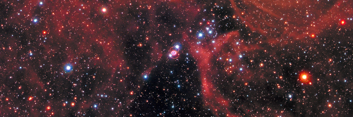 This picture has nothing to do with amateurs. Just another amazing download from the Hubble Space Telescope. (The pink rings just above the center are the remnants of a supernova spotted in 1987) Credit:Nasa, Esa, R. Kirshner (Harvard-Smithsonian Center for Astrophysics and Gordon and Betty Moore Foundation), and M. Mutchler and R. Avila (STScI)