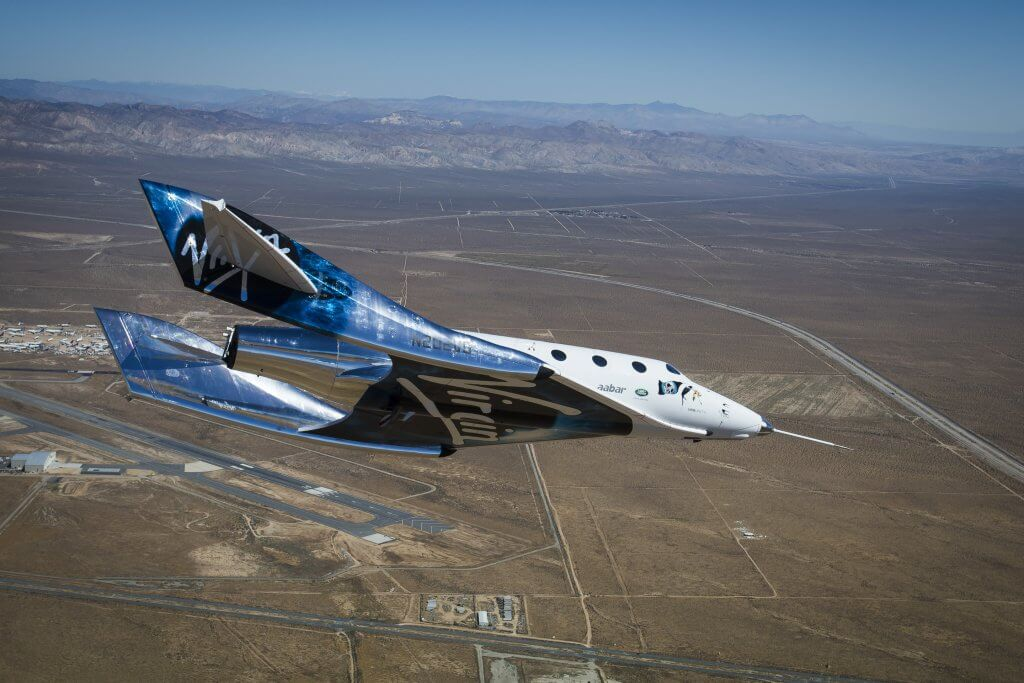 SpaceShipTwo continues its unpowered flight tests. Credit: Virgin Galactic