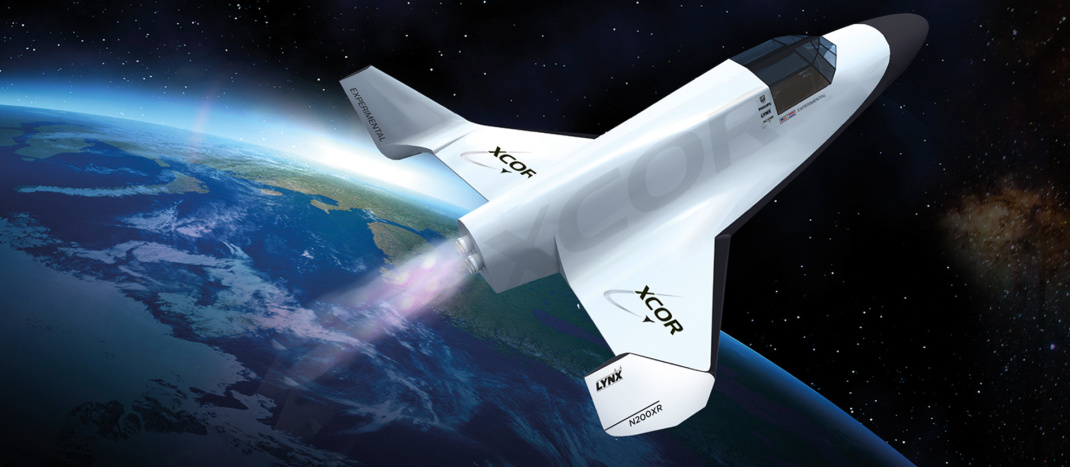 The all-but-defunct XCOR Aerospace once promised to fly citizen astronauts into space on its Lynx rocketplane. Credit: XCOR Aerospace