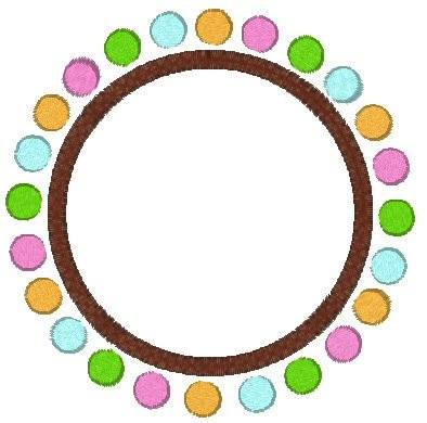 Candy Dots Frame