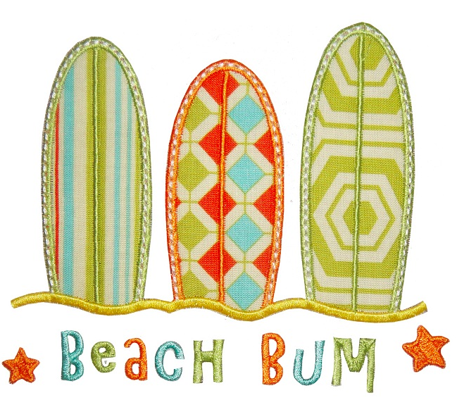 Beach Bum Three Surfboards
