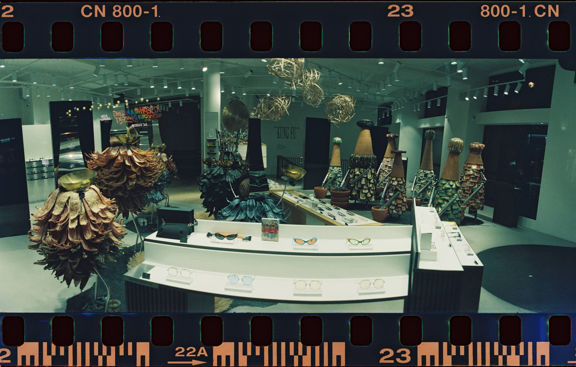 Another shot into a random store on the way through London.   Unusual display which came out ok in the shot.