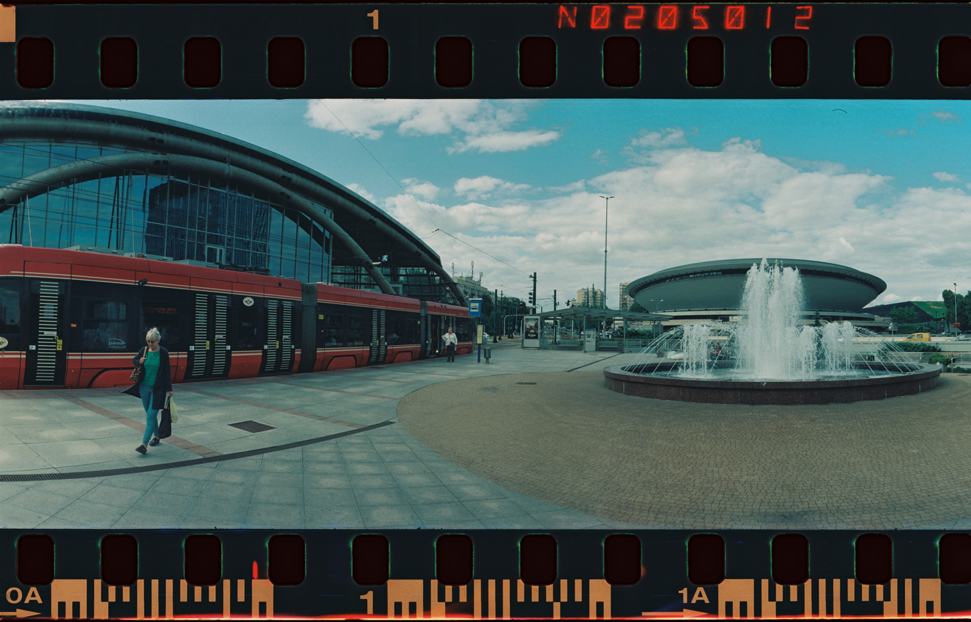 Shot in Katowice, I thought that this environment would work with panoramic photography, but I think I never got in close enough. I should have put the fountain in the middle between the two buildings or just tried to balance out the weight between the left and right of the photo a bit more.