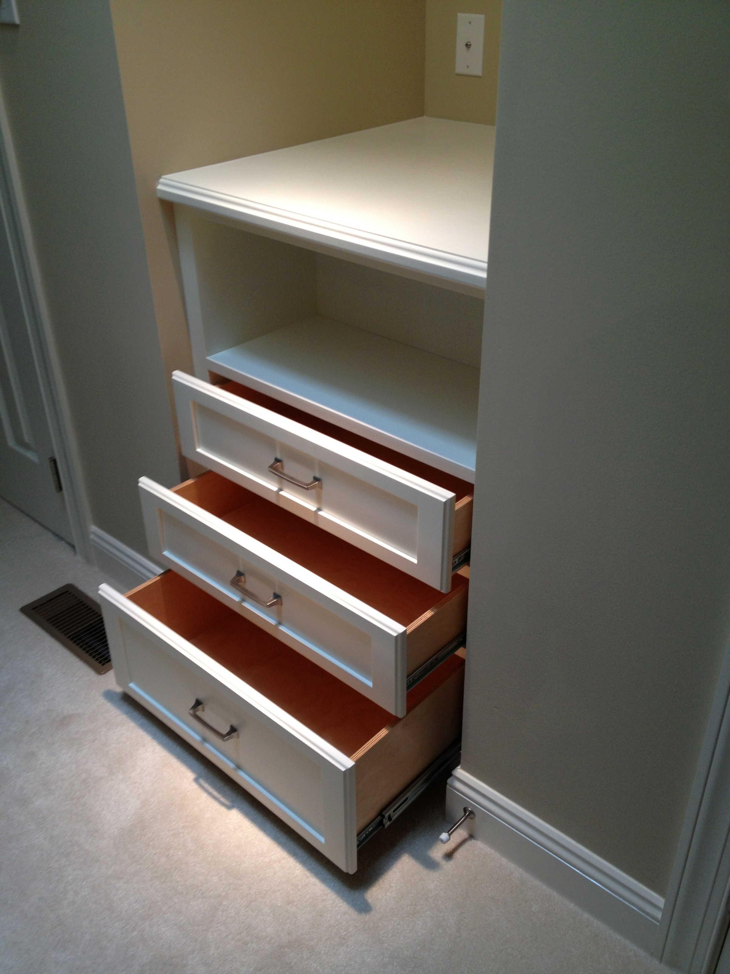 Custom Built-in Dresser