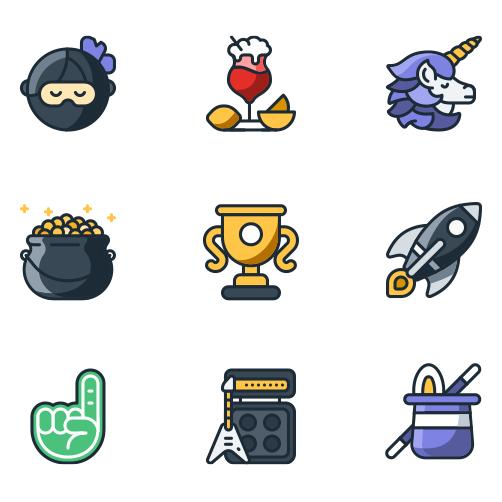 Inbox Zero illustrations were evolved into a Slack emoji set