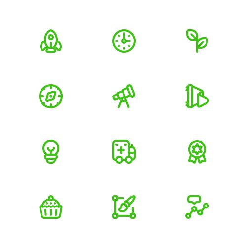 Playlist Theme icons for HelpU