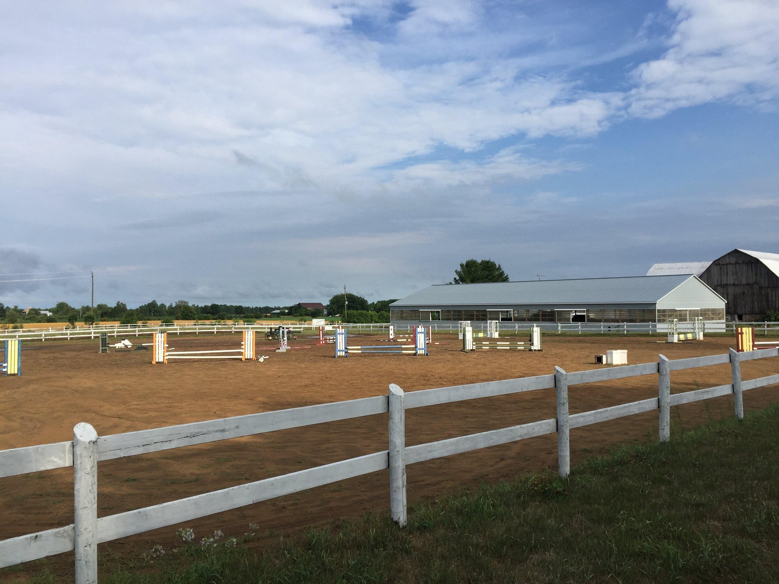 Edenview Equestrian Center Jumper Ring Summer 2016