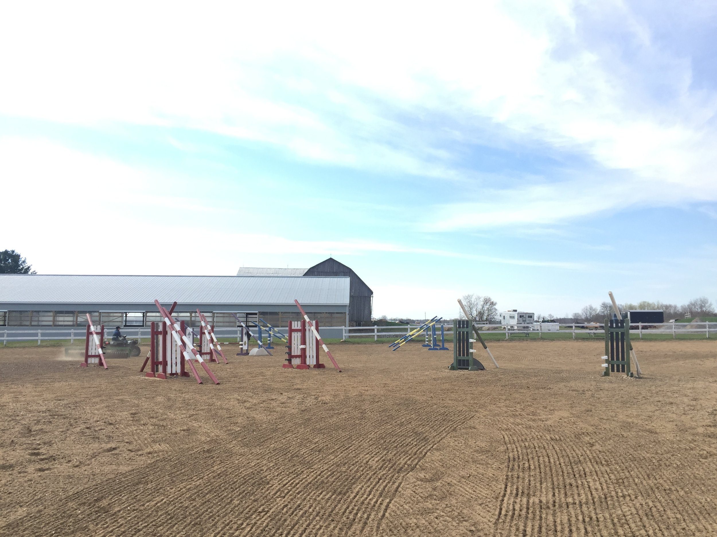 Edenview Equestrian Center Jumper Ring 2015