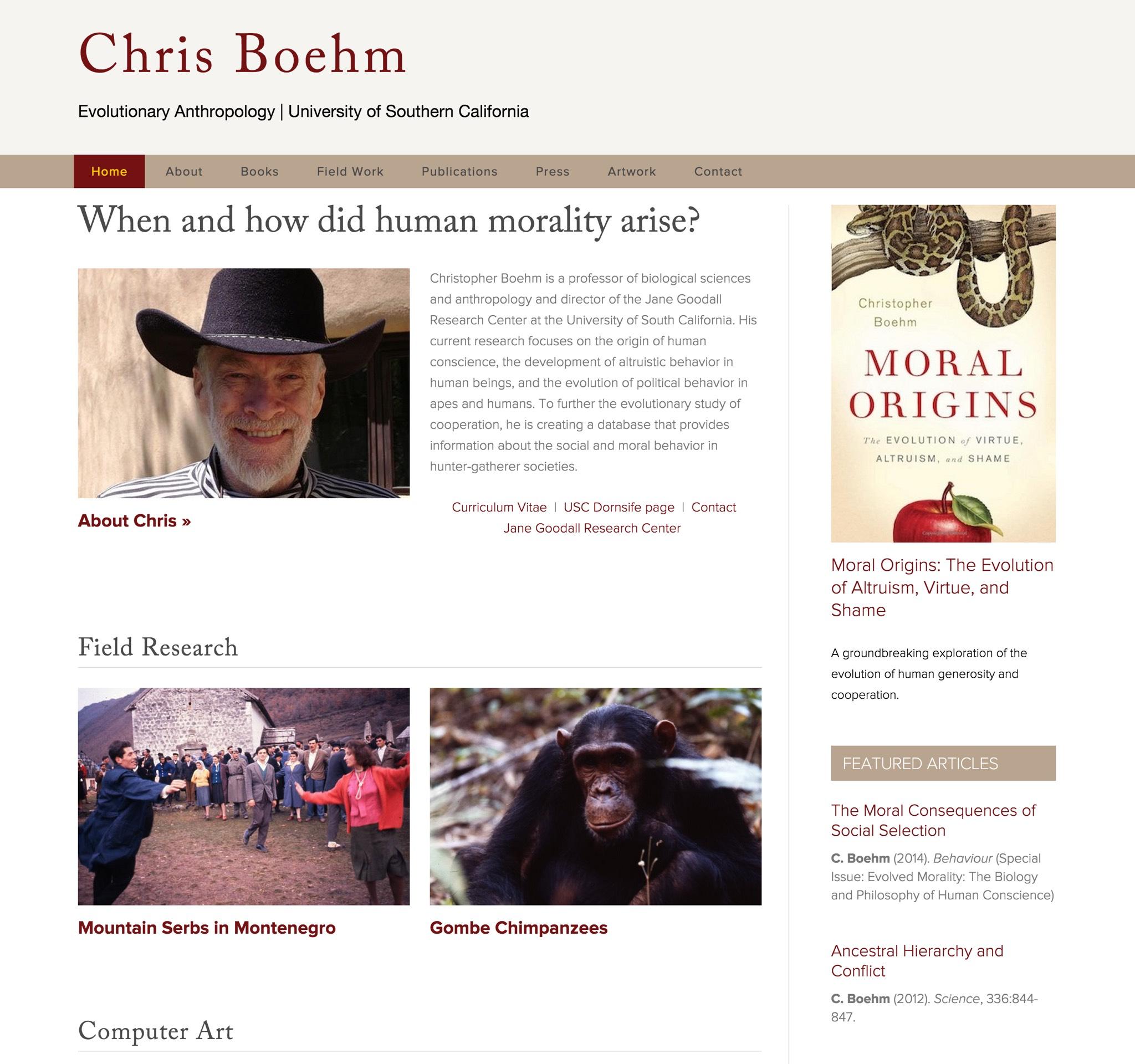 Visit Christopher's ScienceSite