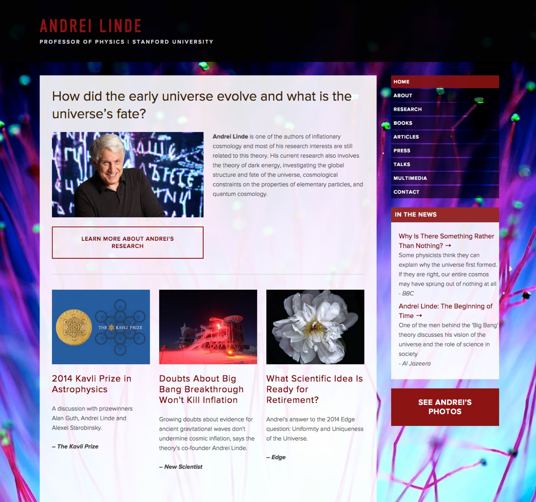 Visit Andrei's ScienceSite