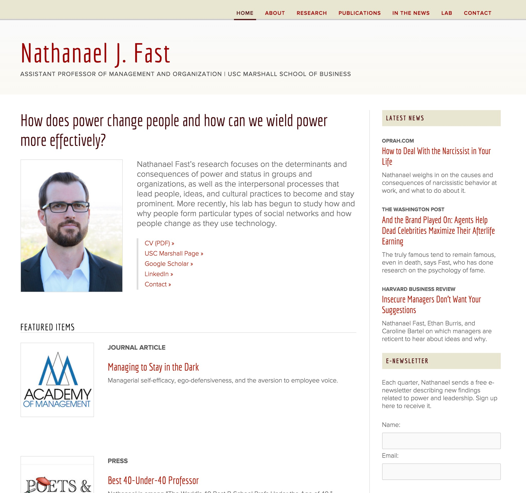 Visit Nathanael's Science Site