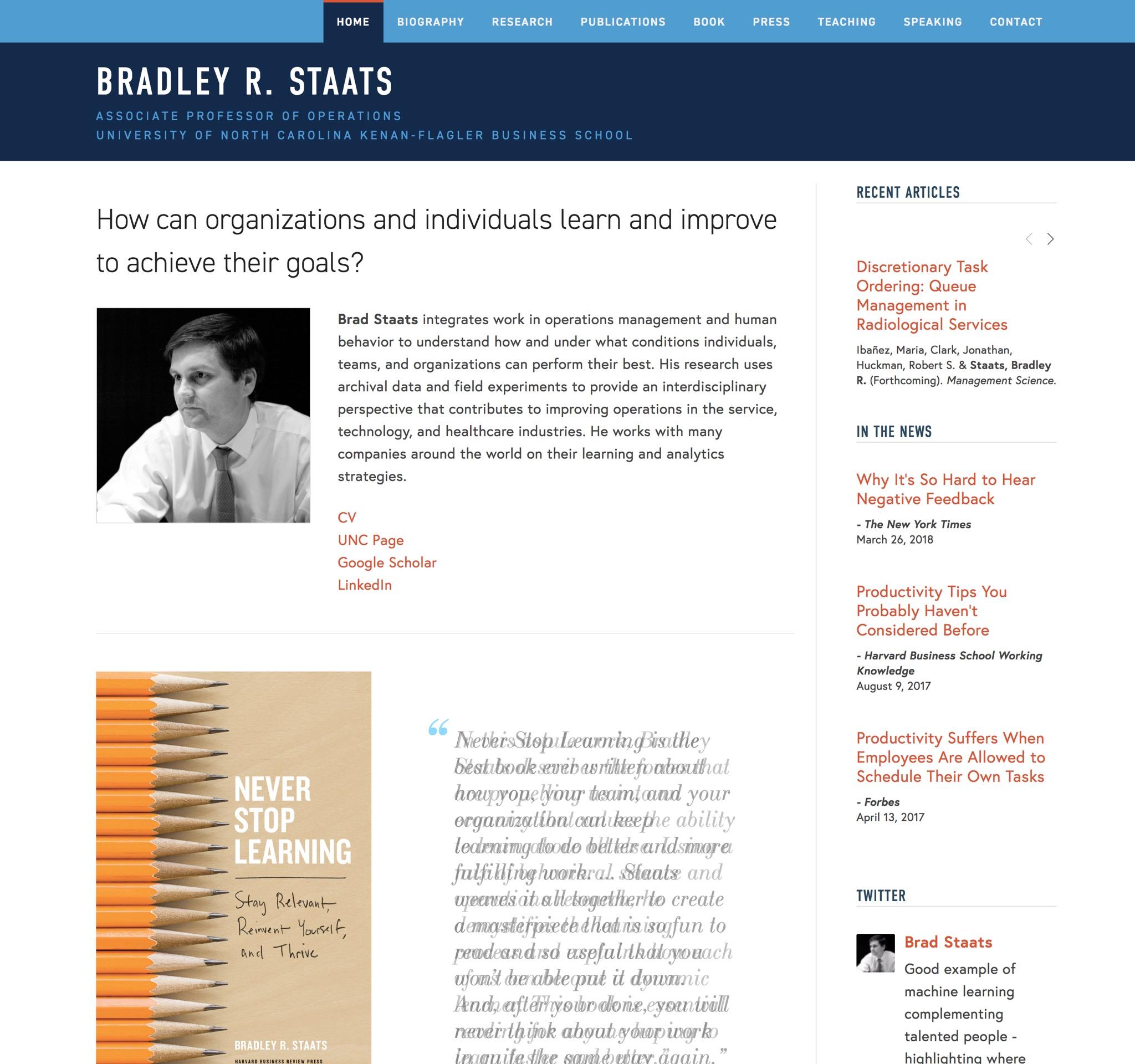 Visit Brad's ScienceSite