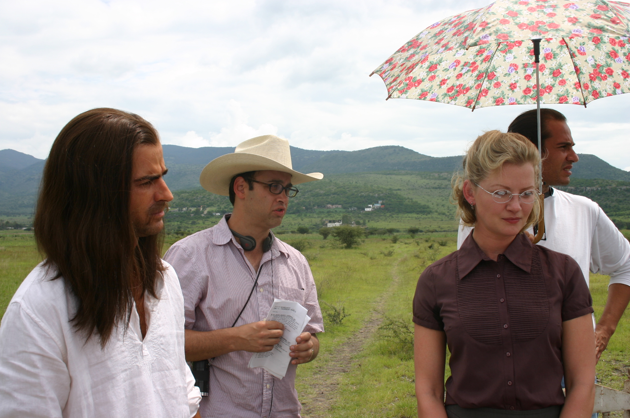 Shooting The Ten in Mexico with Justin Theroux & Gretchen Mol, 2006
