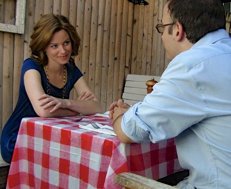 Shooting  Wainy Days  with Elizabeth Banks. 2007