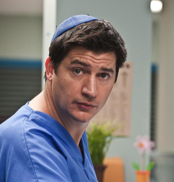 "Just Falcon as ""Dr. Glenn Richie"""