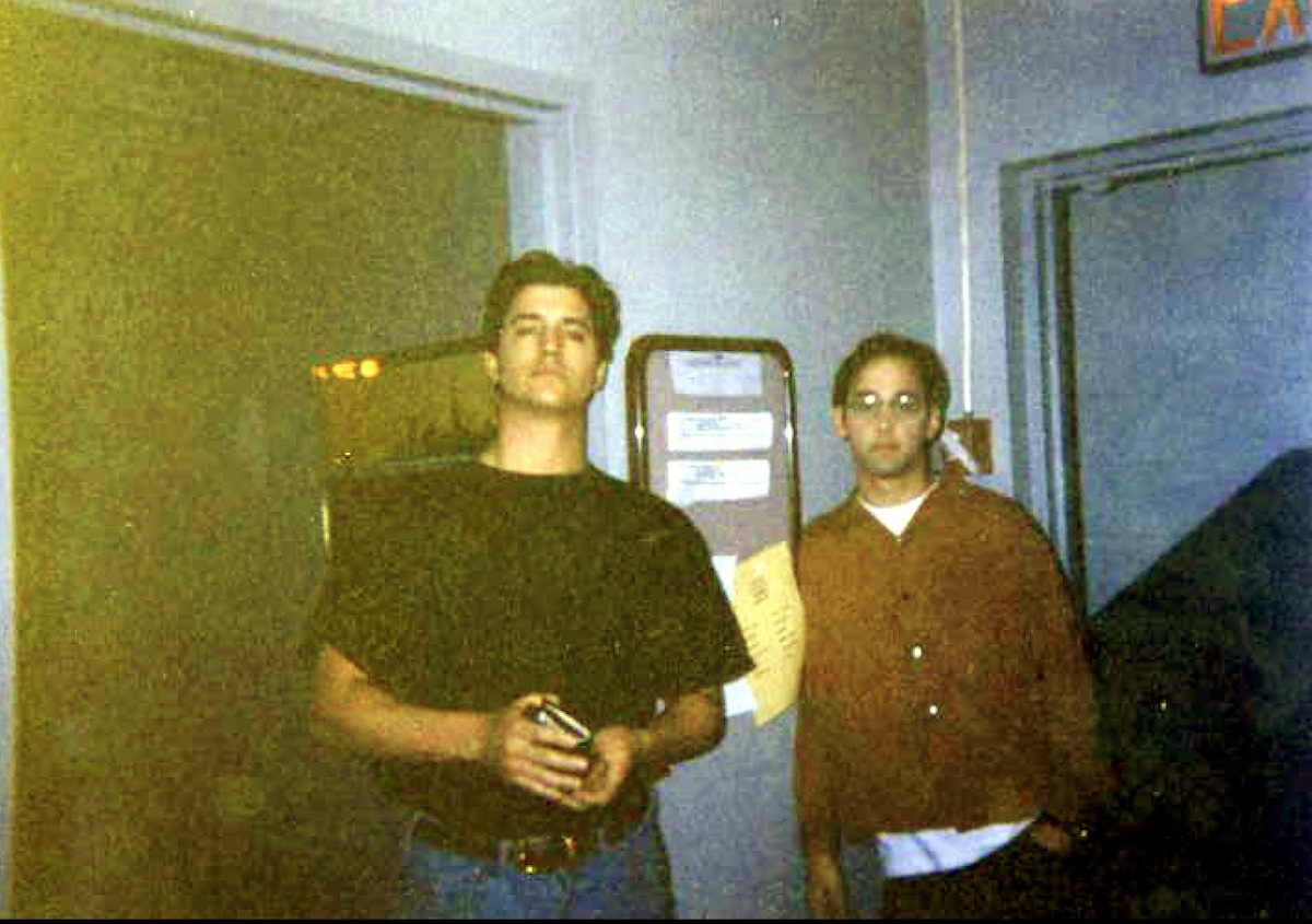 Falcon and me in our college days.