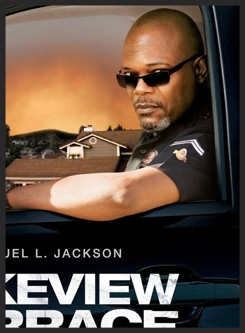 Click on photo to see my spoof poster of the 2008 Samuel L. Jackson movie  Lakeview Terrace.