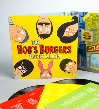 The Bob's Burgers deluxe album is awesome - I sing a few songs on it!