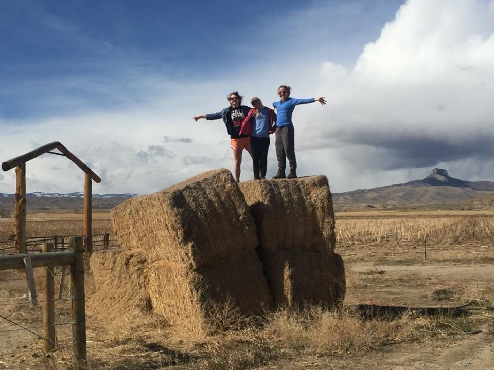 I went on a trip to wyoming over spring break with some of the ladies I know through spo.