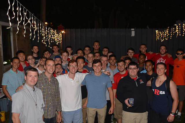 The Men of Rutgers University foster brotherhood on campus through Men's Nights.