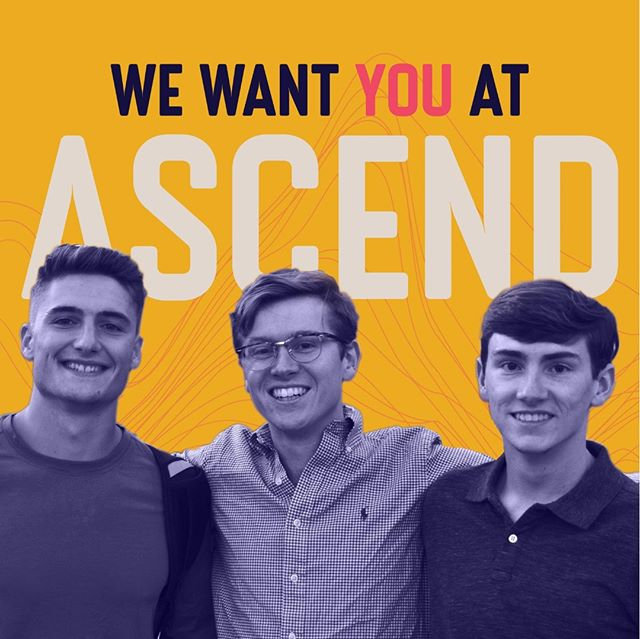 That's right! We want YOU! Sign up now, registration is open! Join us as we encounter God together! Link is in our bio #ascendspo