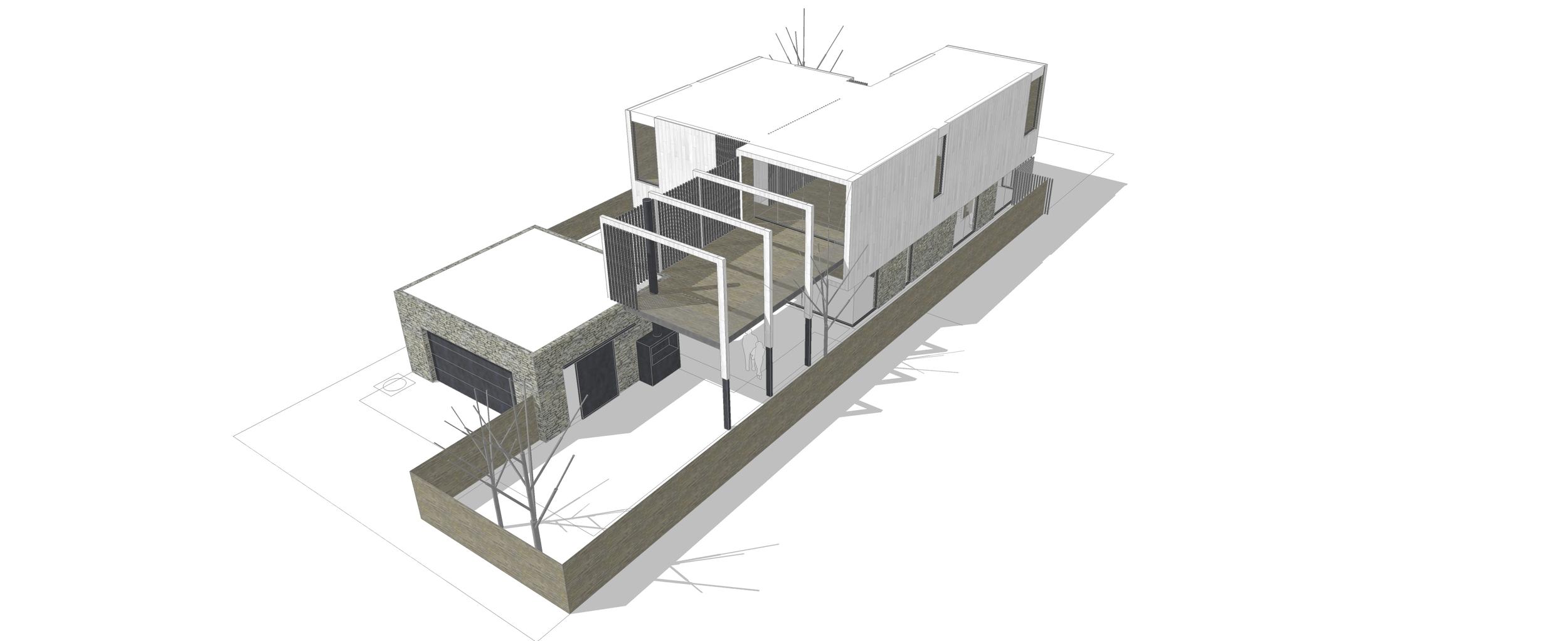 Scheme 2_0T:  Level 2 Outdoor Terrace