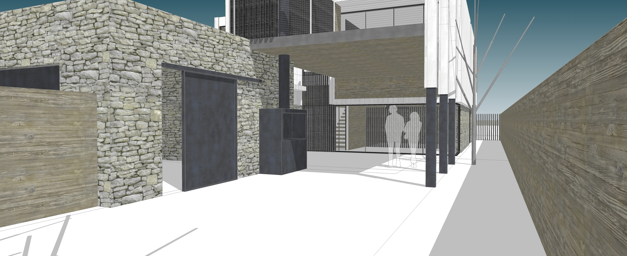 Scheme 2_OT View to Quincho from Rear