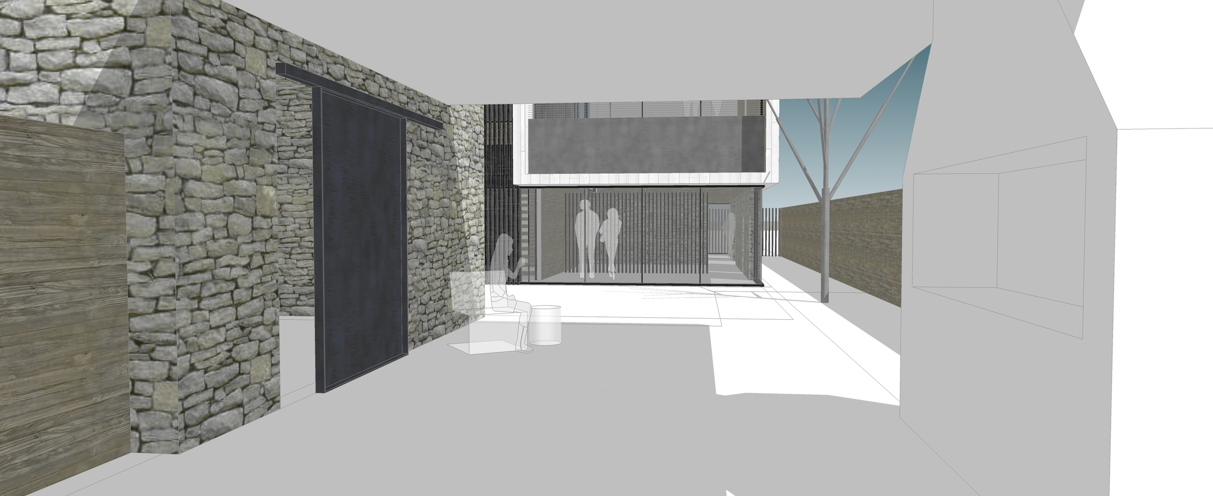 Scheme RQ View from Quincho to House