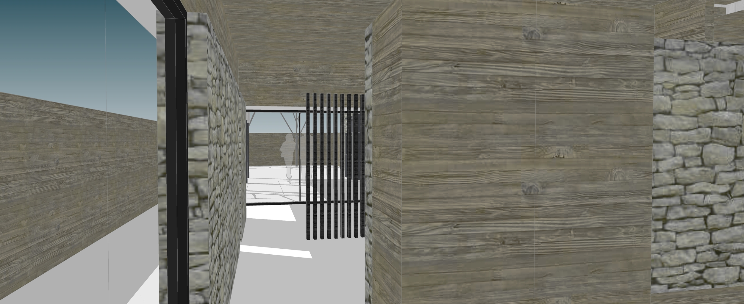 View From Foyer to Formal Living / Dining