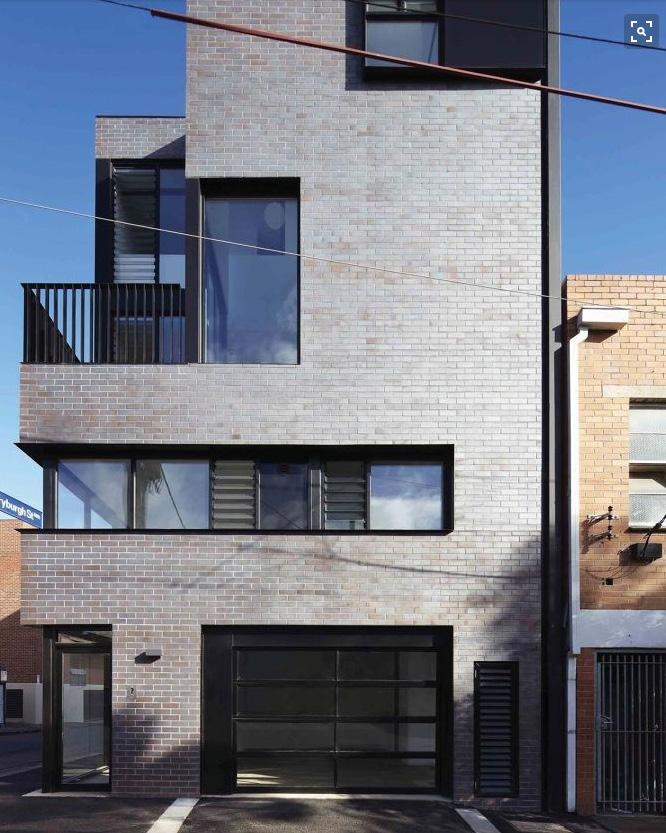 Grey Modern Brick:  M1 Option - $$