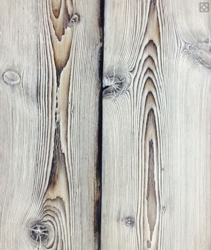 Bleached or Stained Cypress:  M1 or M2 - $$