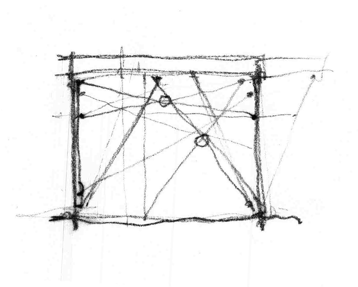 study for tensile bracing detail