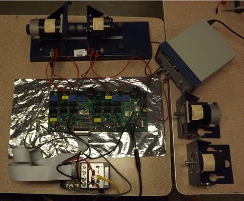 Compact RIO, Control Board, and Motor Drive