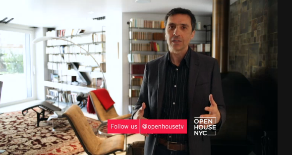 Sayres House on Open House TV, NBC Channel 4 (click image to go to video)