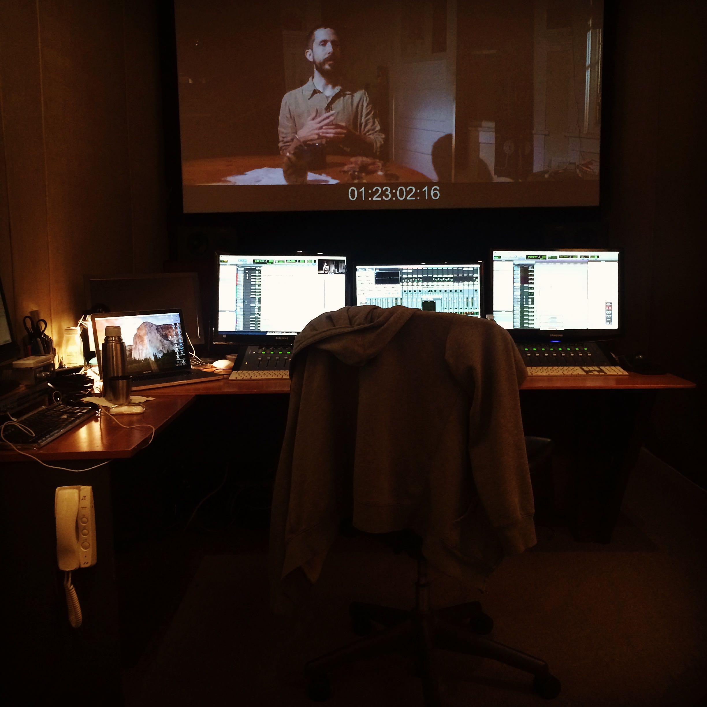 Mixing The Nightmare at Listen2 Audio in Burbank