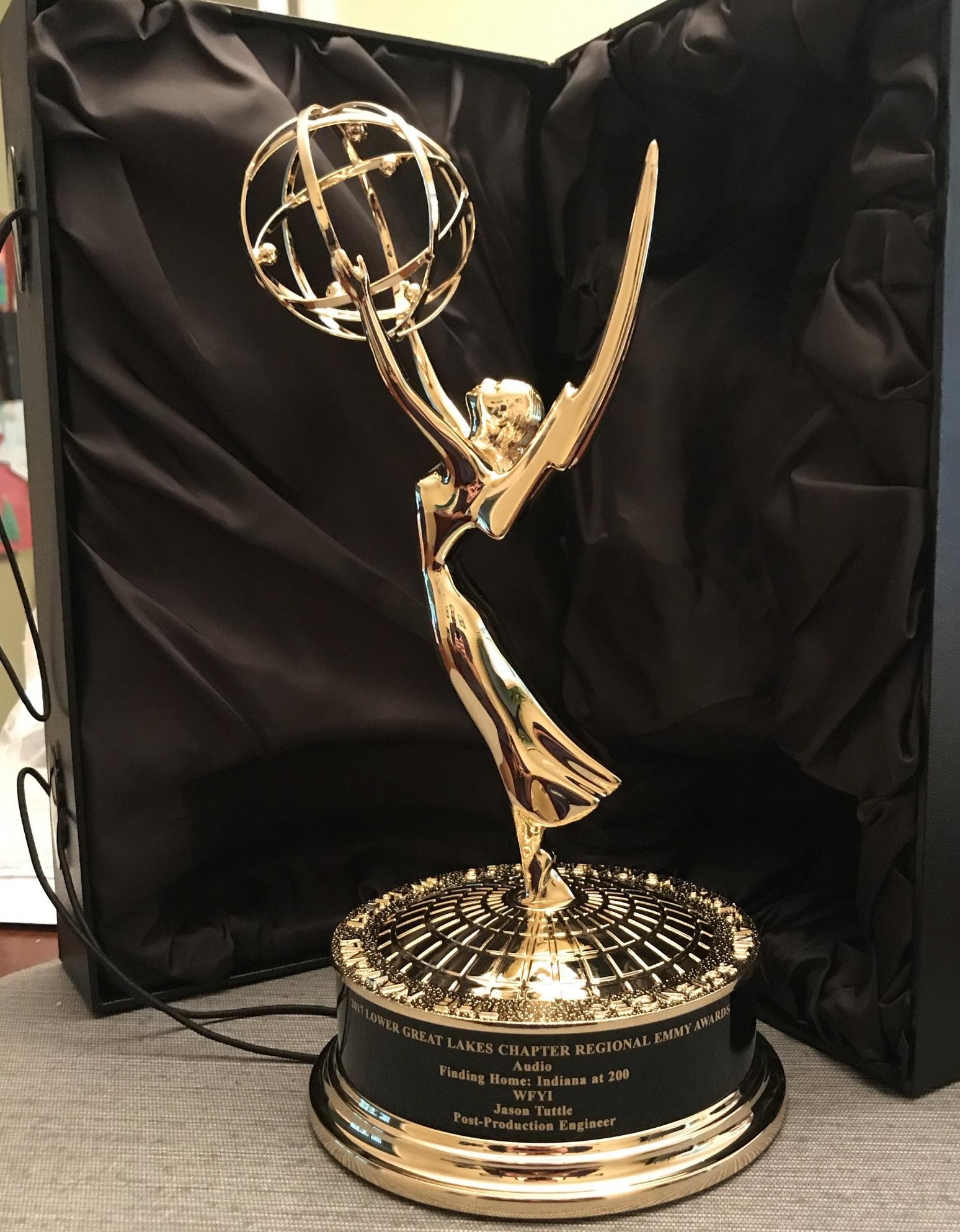 WAT? - A real-live Emmy award!