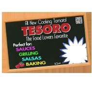 Tesoro 7x11 POS - Chalkboard Versio