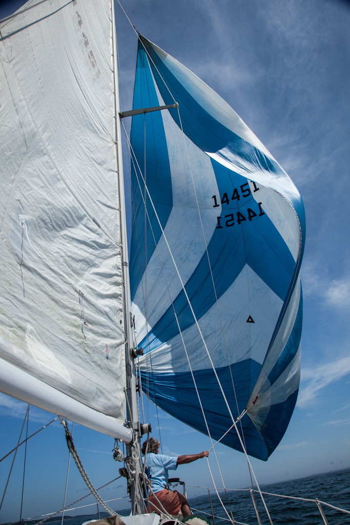 Sailing. Maine, USA