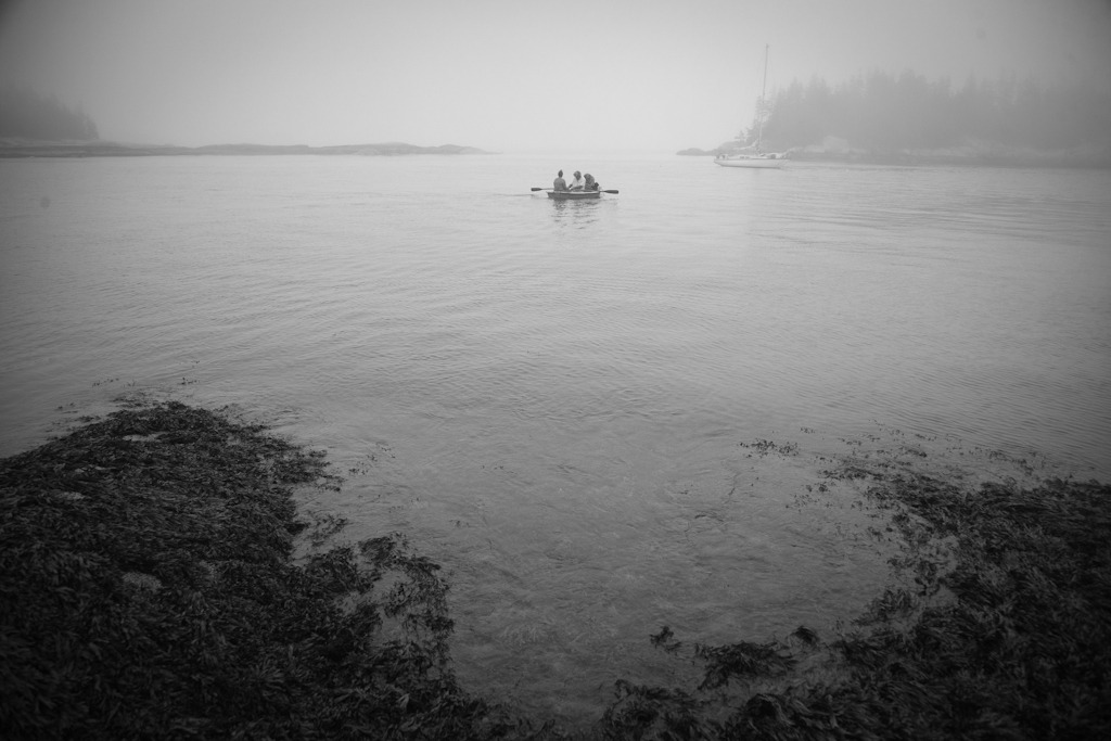 Rowing Back, Port Clyde, Maine, USA