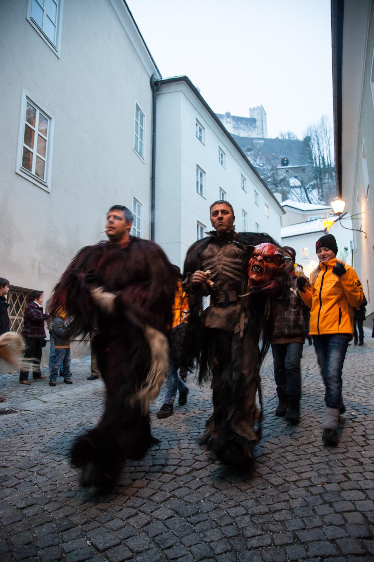 The Krampus Cometh, Salzburg, Austria