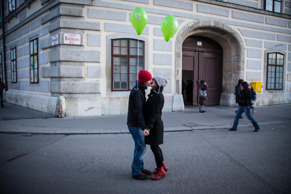 Love in Vienna, Austria