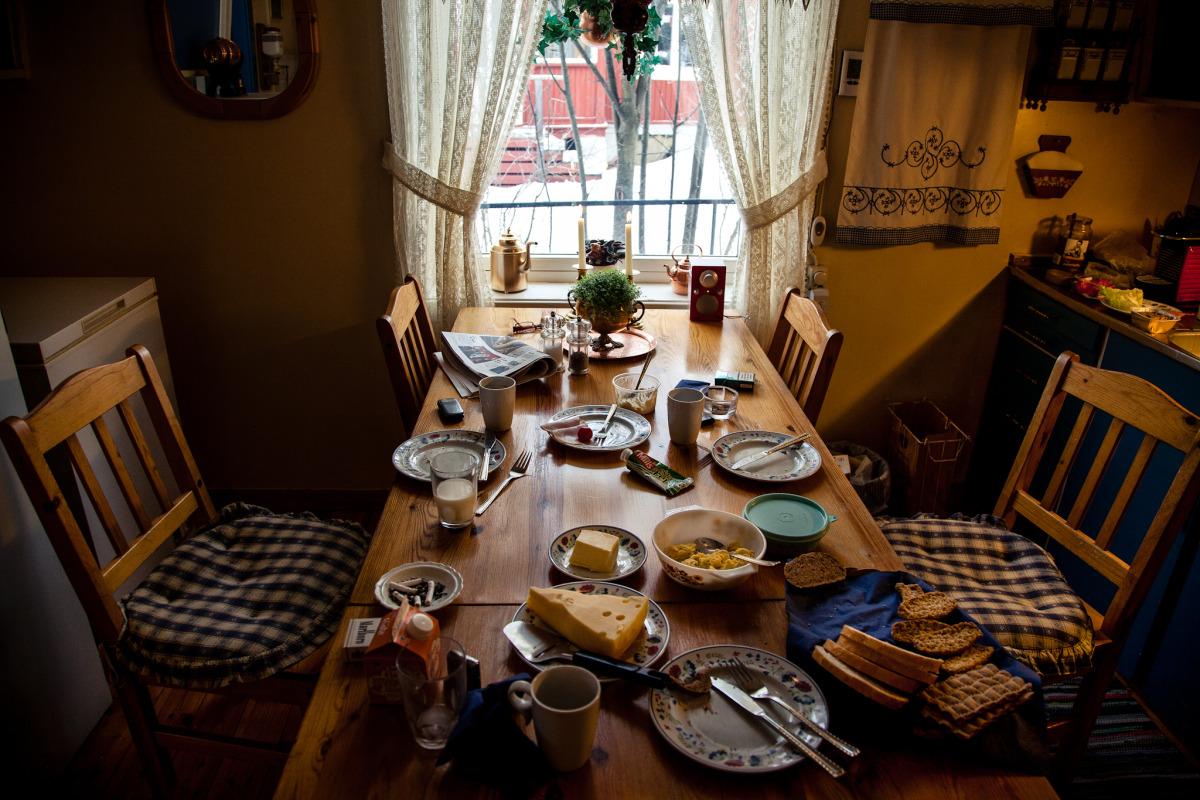 A Norwegian Breakfast, Hamar, Norway