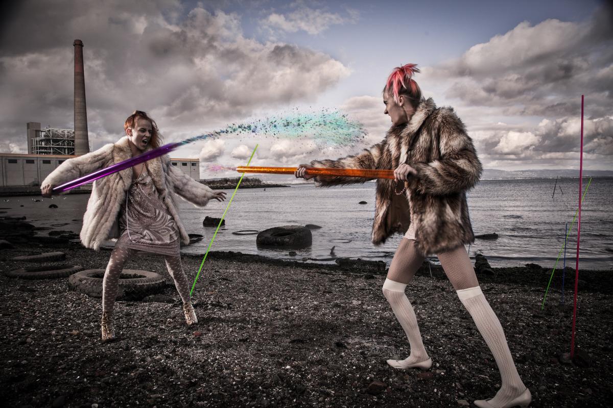 """Post Apocalyptic Tribal Glitter Warfare #2"""