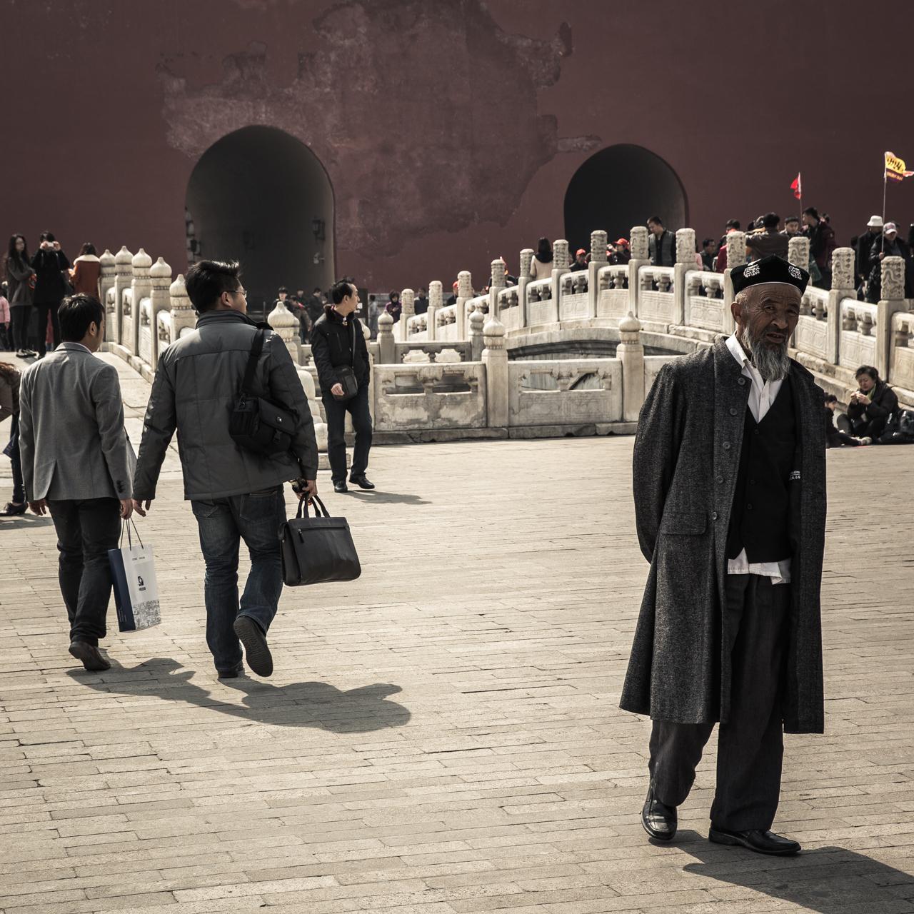 Old Man, Beijing, China