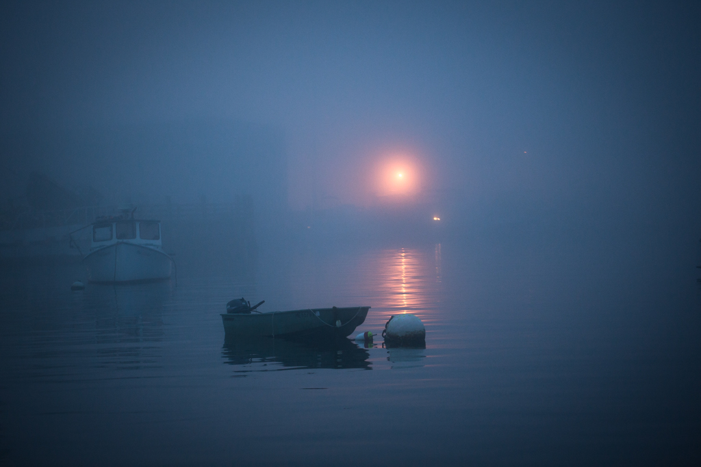 Lone Rowboat, Port Clyde, Maine, USA