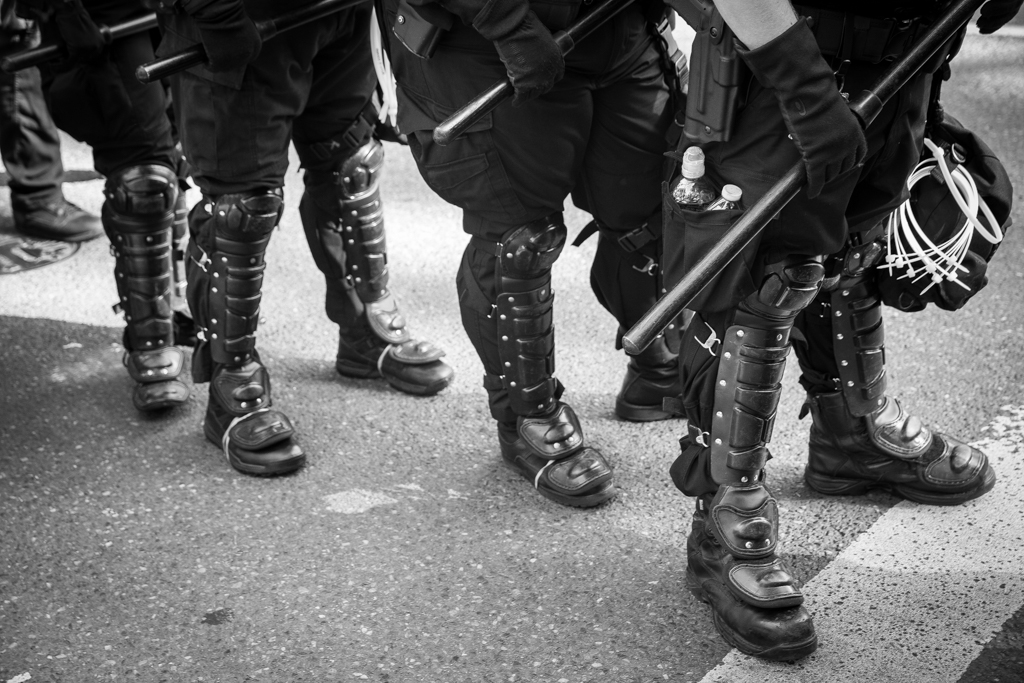 Riot Police Boots