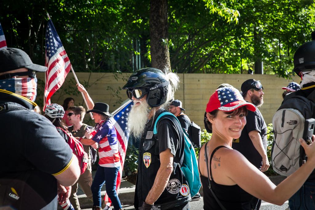 Patriot Prayer Demonstrators