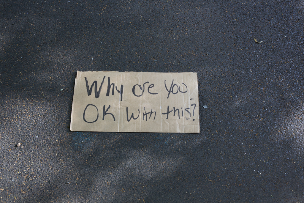 Discarded Signage