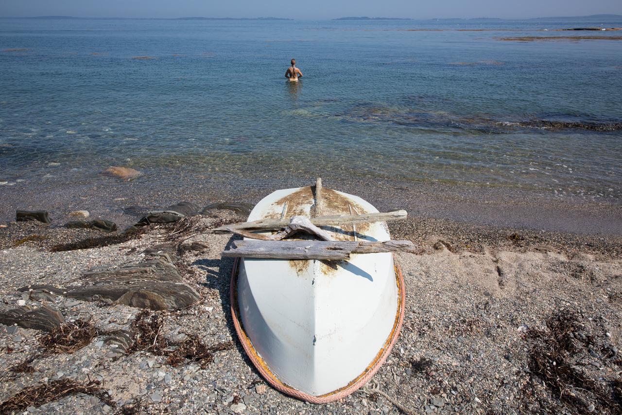 Rowing Ashore