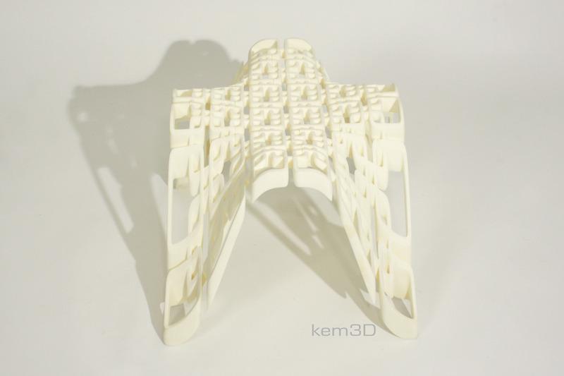lattice rig stool